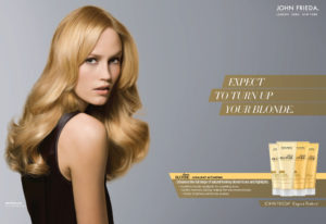 John Frieda Hair Product Ad