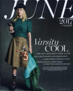 Marie Claire Varsity Cool Nicola Peltz