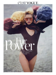 Paris Vogue Fur Power